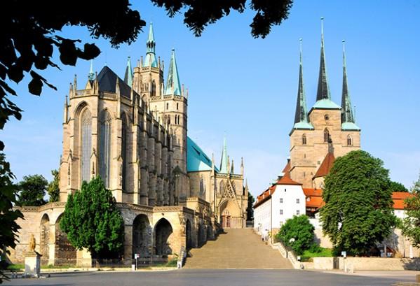 Domstufen, Erfurt