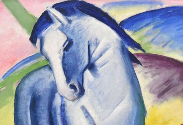 Blaues Pferd (Franz Marc)