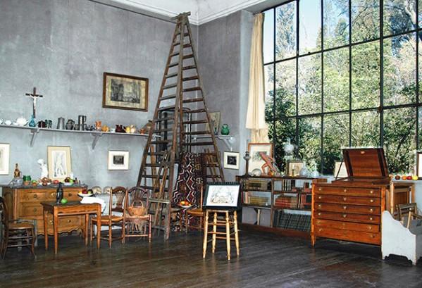 Atelier van Cézanne in Aix-en-Provence