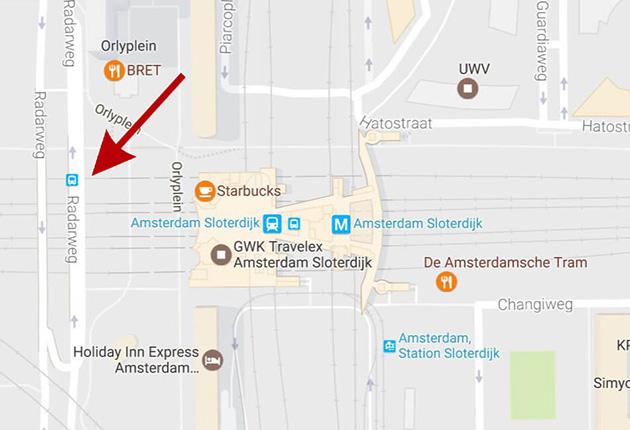 Opstapplaats Amsterdam