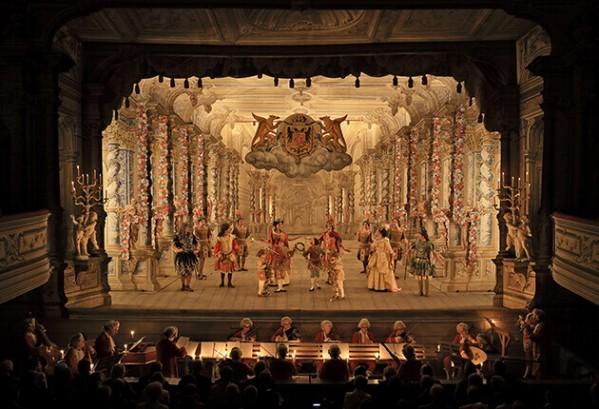 Baroktheater in het kasteel van Český Krumlov
