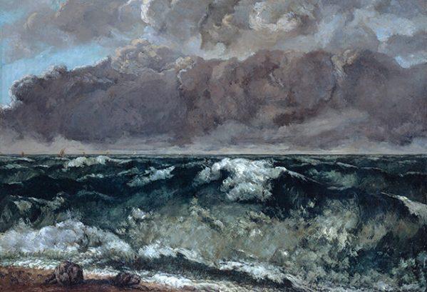 La vague, Courbet (Folkwangmuseum Essen)