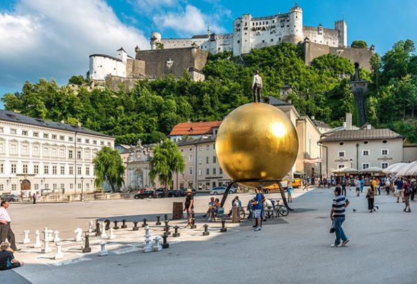 Kapitleplatz, Salzburg