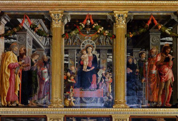 Altaar in San Zeno in Verona (Mantegno)