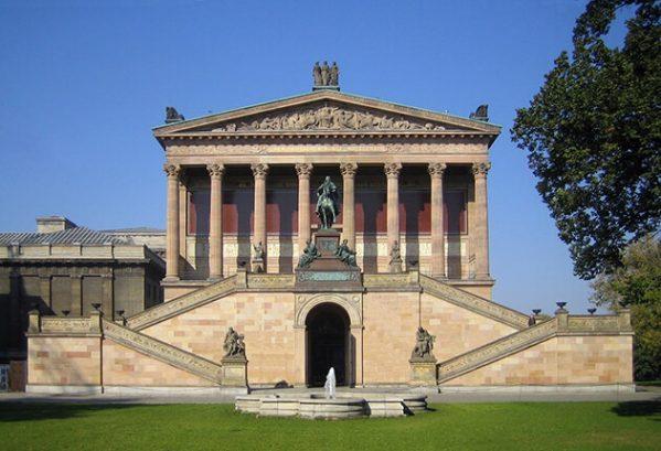 Nationalgalerie, Museumsinsel, Berlijn