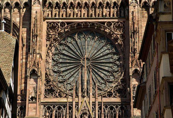 Kathedraal (detail), Strasbourg