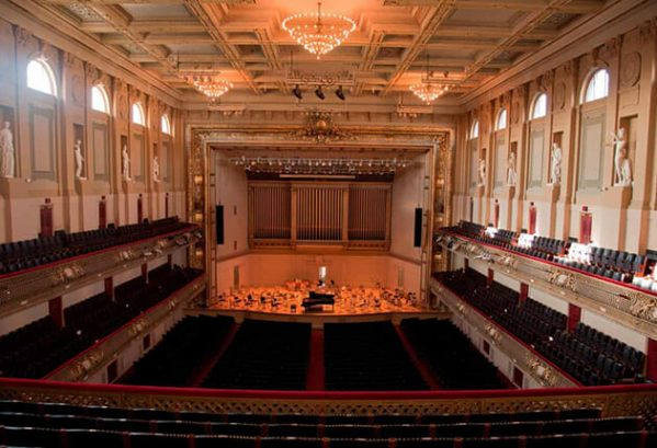 Boston Symphony Hall, Boston