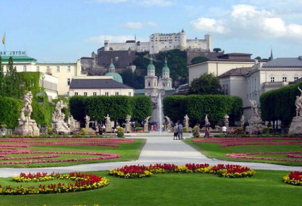 Mirabel Garten, Salzburg