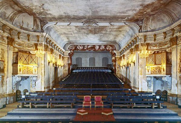 Theater Drottningholm, koninklijke zetels