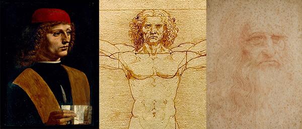 Ritratto di musico - Homo Vitruvianus - Turijns portret
