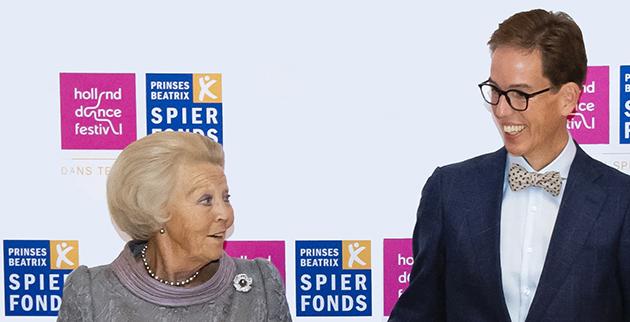 Prinses Beatrix en Remco Roovers, augustus 2018