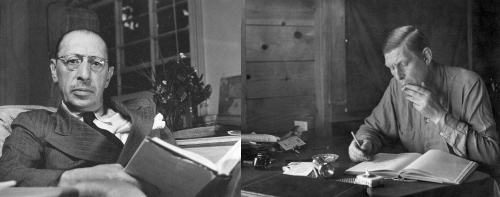 Stravinsky / Auden