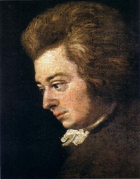 Mozart, 1783 (Joseph Lange)