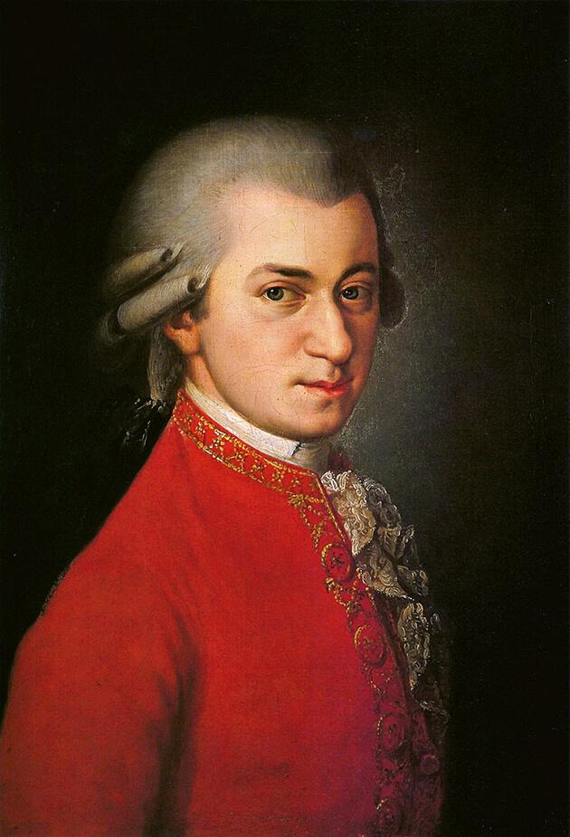 Mozart, 1819 (Barbara Krafft)