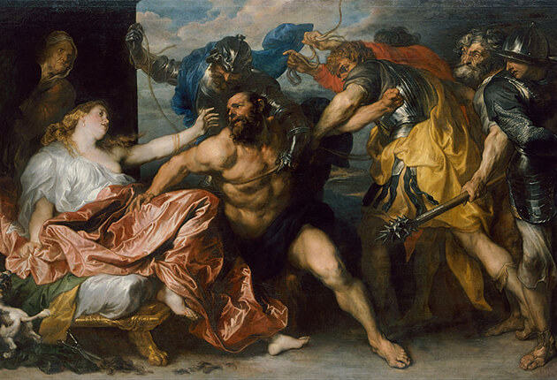 Samson en Dalila (Antoon van Dyck)