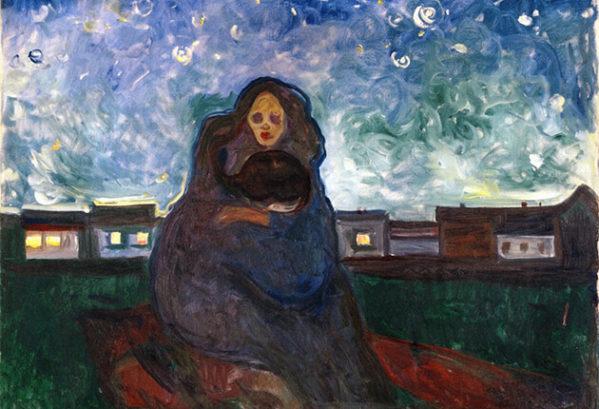 Onder de sterren (Edvard Munch)