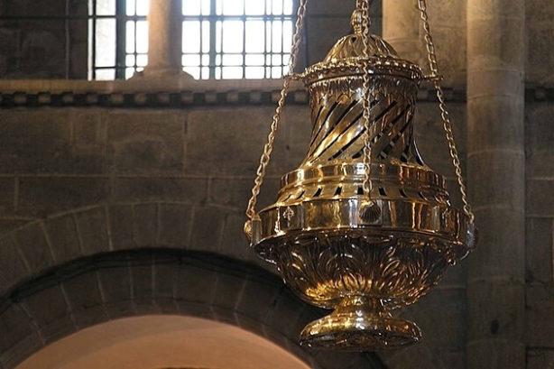 Botafumeiro, kathedraal van Santiago de Compostella