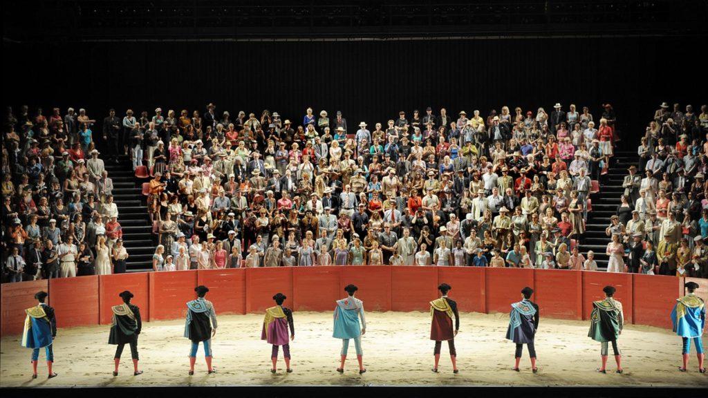 Laatste akte van Carmen bij De Nationale Opera