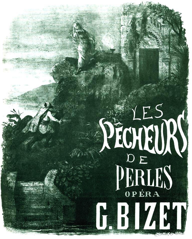 Première-affiche van Les pêcheurs de perles