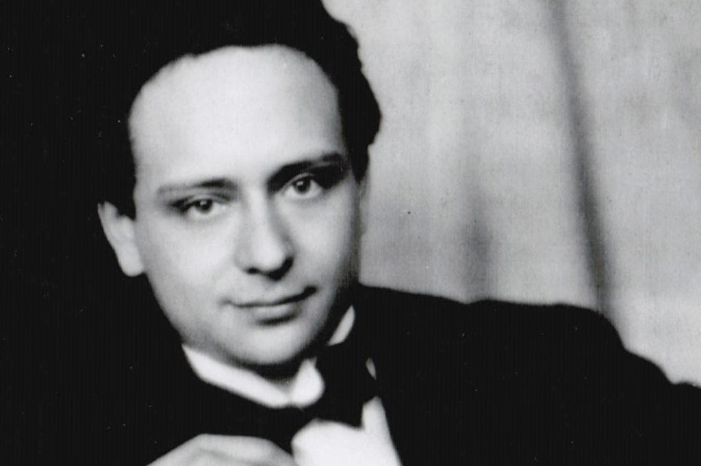 Portret van componist Viktor Ullman (1924)