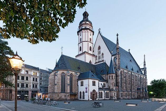 In de Thomaskirche in Leipzig vond de eerste uitvoering van de Matthäus-Passion plaats