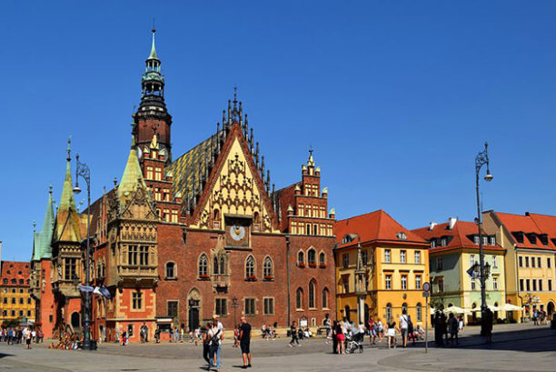 Stadhuis, Wroclaw