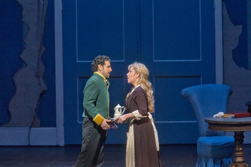 Prins Don Ramiro ontmoet Angelina (Foto: Metropolitan Opera)