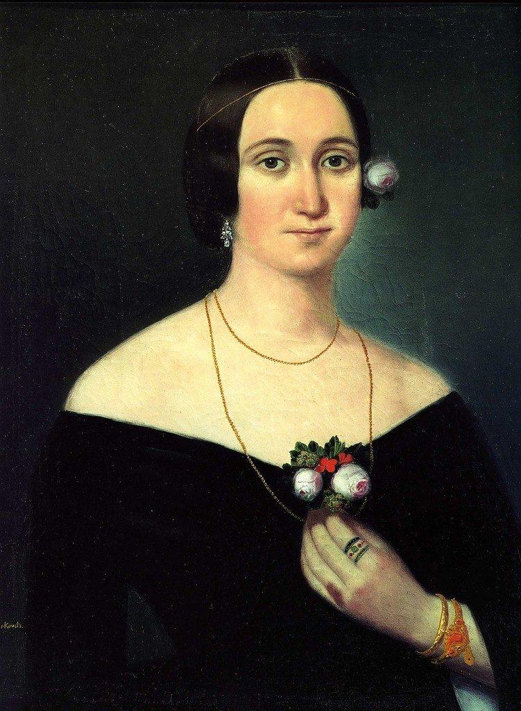 Giuseppina Strepponi, de eerste Abigaille in Nabucco.