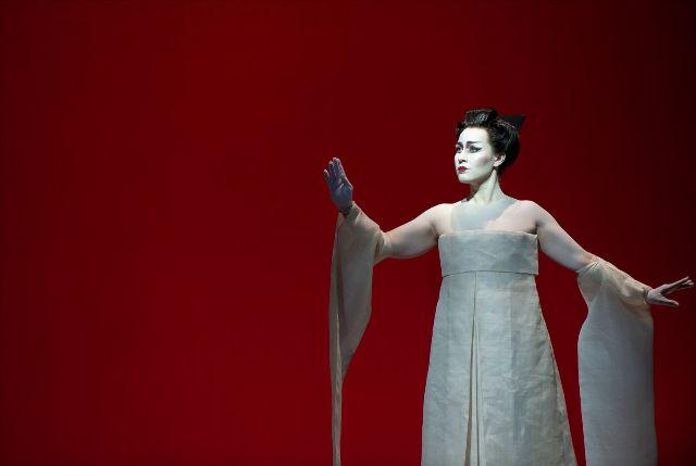 Elena Stikhina als Cio-Cio-San in Madama Butterfly (Foto: BAUS/De Nationale Opera)