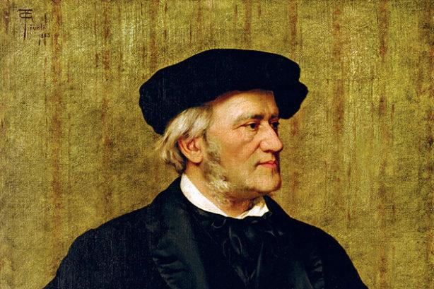 Richard Wagner - detail (Giuseppe Tivoli, 1883)