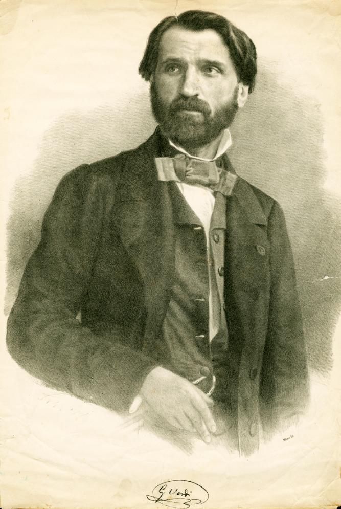De jonge Giuseppe Verdi