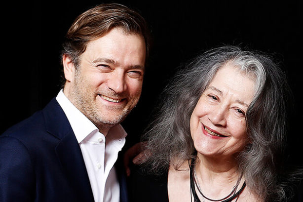 Renaud Capuçon en Martha Argerich