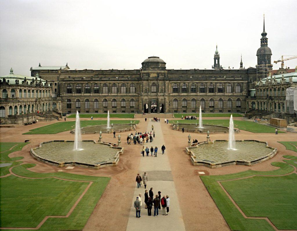 De Gemäldegalerie Alte Meister aan het binnenhof van het Zwinger in Dresden (Foto: Christian von Steffelin)