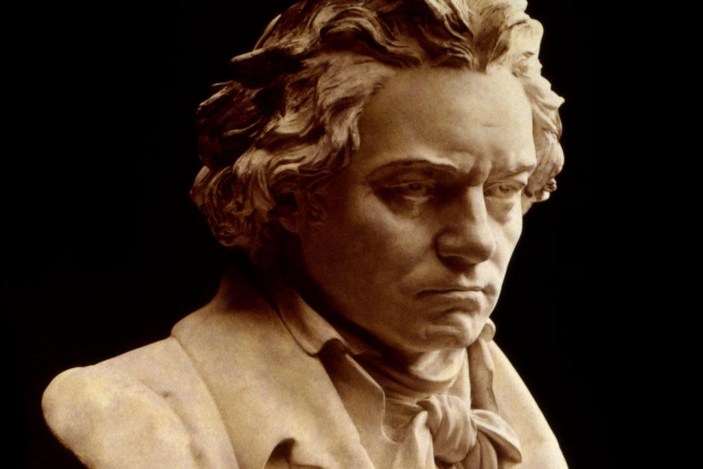 Buste van Beethoven door Hugo Hagen