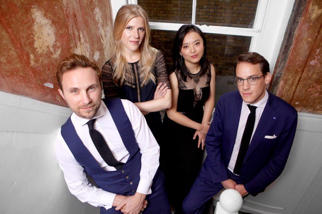 Het Doric String Quartet  (Foto: George Garnier)