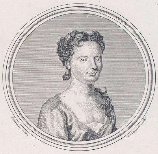 Portret van de beroemde sopraan Francesca Cuzzoni (Foto: New York Public Library)
