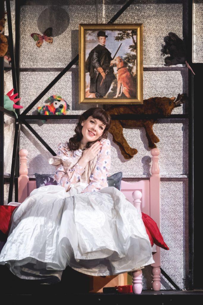 Lenneke Ruiten als Agathe bij de Opéra National du Rhin in Straatsburg