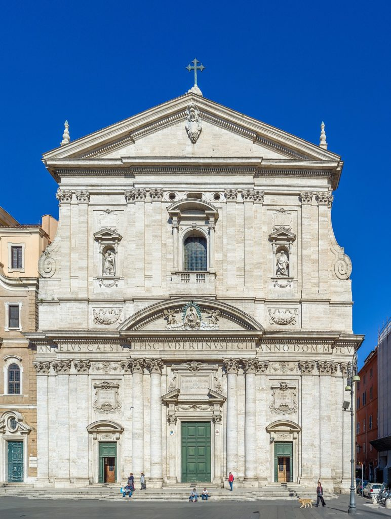 De Chiesa Nuova (Santa Maria in Vallicella) in Rome, geboorteplaats van het oratorium