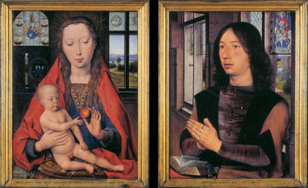 Hans Memling - Tweeluik van Maarten van Nieuwenhove (1489)