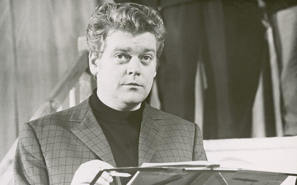 De Duitse bariton Hermann Prey (1929-1998), een van de grondleggers van het festival