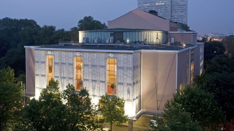De Oper am Rhein in Düsseldorf