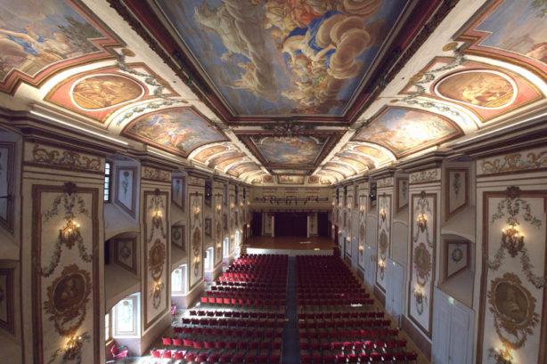 Haydnsaal in slot Esterházy in Eisenstadt foto Rudolf Strutz)