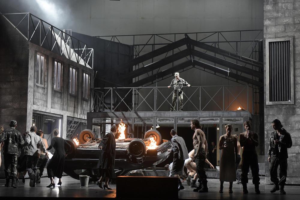 Veel geweld in Py's productie van Le Prophète (Foto: Bettina Stöß)