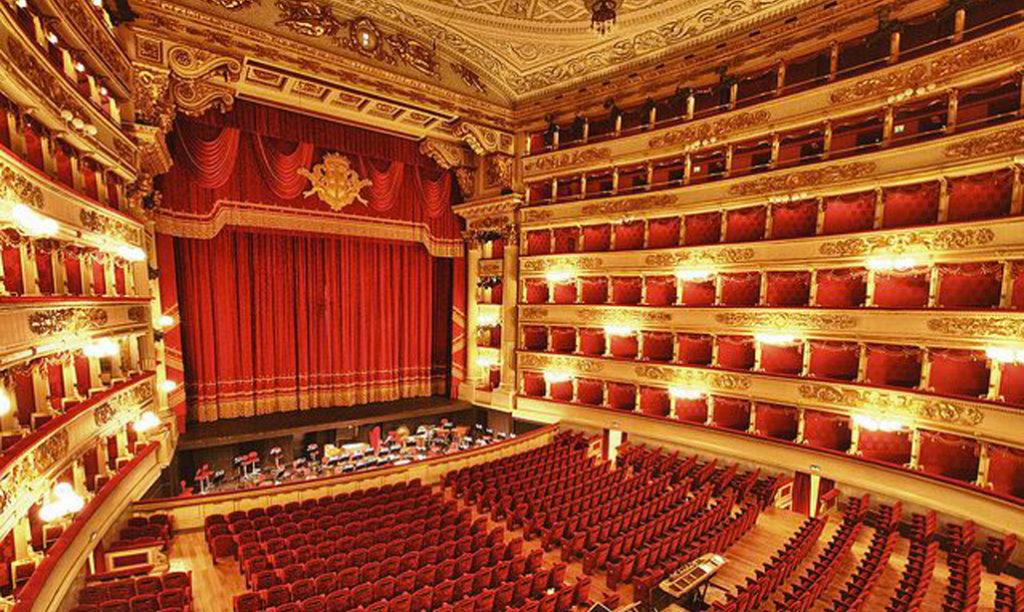 De zaal van La Scala
