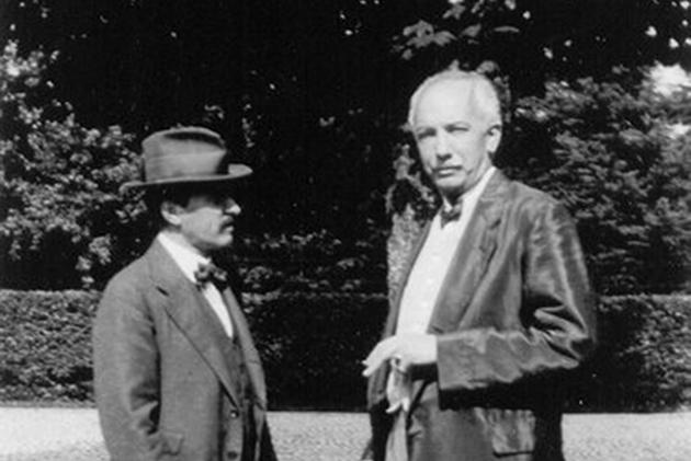 Hugo von Hofmannsthal en Richard Strauss