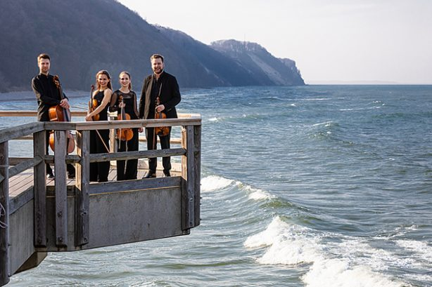 Armida Quartett op Rügen (foto Oliver Borchert)