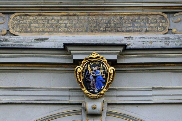 Friedenskuss - Schloß Friedenstein, Gotha (foto Christoph Bellin)