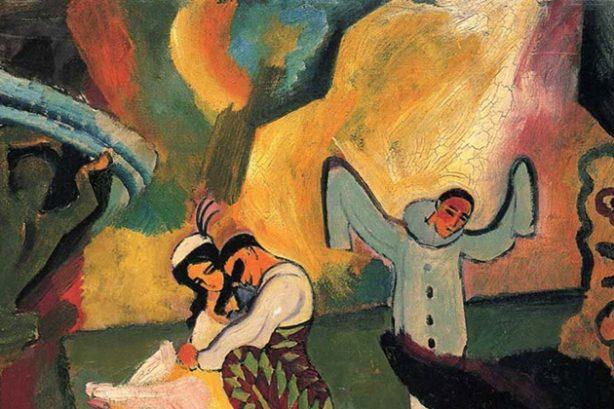Russisch ballet (Macke)