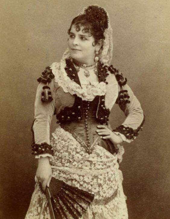Celestine Galli-Marié als Carmen (foto Nadar)