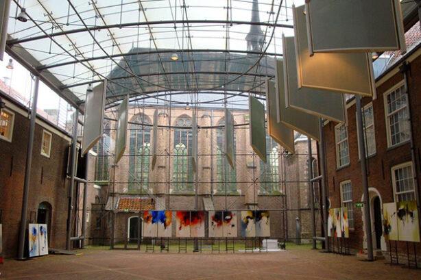 Van der Mandelezaal in Het Prinsenhof, Delft